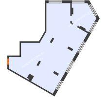 3 комнатная квартира 98,4 м² в ЖК АТЛАНТ СИТИ, дом №1 - планировка