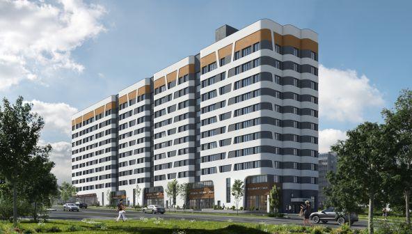 Жилой комплекс (ЖК) «Лайнер на Барминской» в Нижнем Новгороде