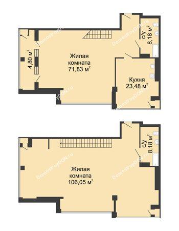 1 комнатная квартира 219,71 м² - ЖК Rems Residence (Ремс Резиденс)