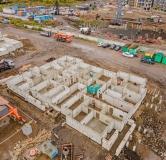 Ход строительства дома № 1.2 в ЖК Мичурино -