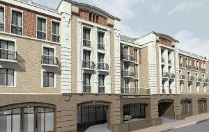 Гостиница на75 номеров скрытой автостоянкой наулице Октябрьская врайоне домов 11А и13
