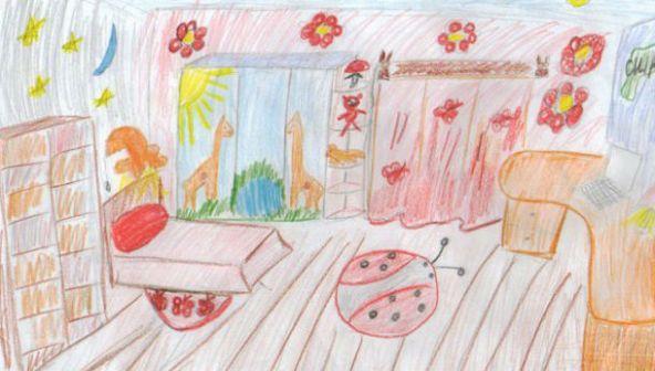 Нарисуй комнату мечты!