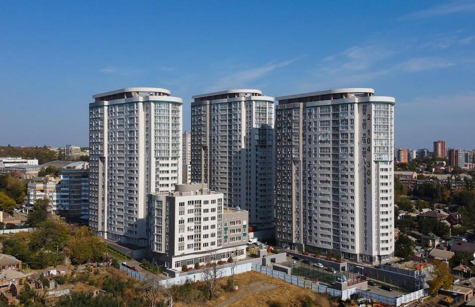 Четыре многоквартирных дома сдали в эксплуатацию в Ростове в сентябре