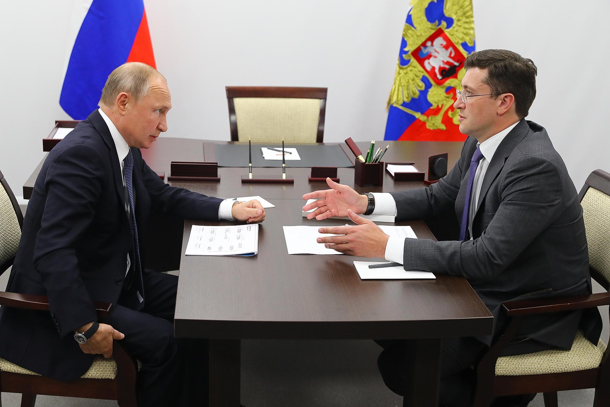Проект межрегионального онкоцентра представлен Владимиру Путину в Нижнем Новгороде