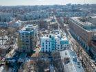 Ход строительства дома №1 в ЖК Премиум - фото 52, Апрель 2018