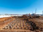 Ход строительства дома № 21 в ЖК КМ Анкудиновский парк - фото 11, Апрель 2021