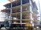 ЖК Марксистский - ход строительства, фото 28, Май 2020