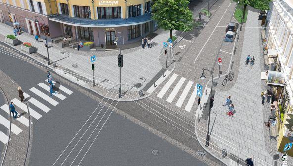 План благоустройства улицы Алексеевской в Нижнем Новгороде