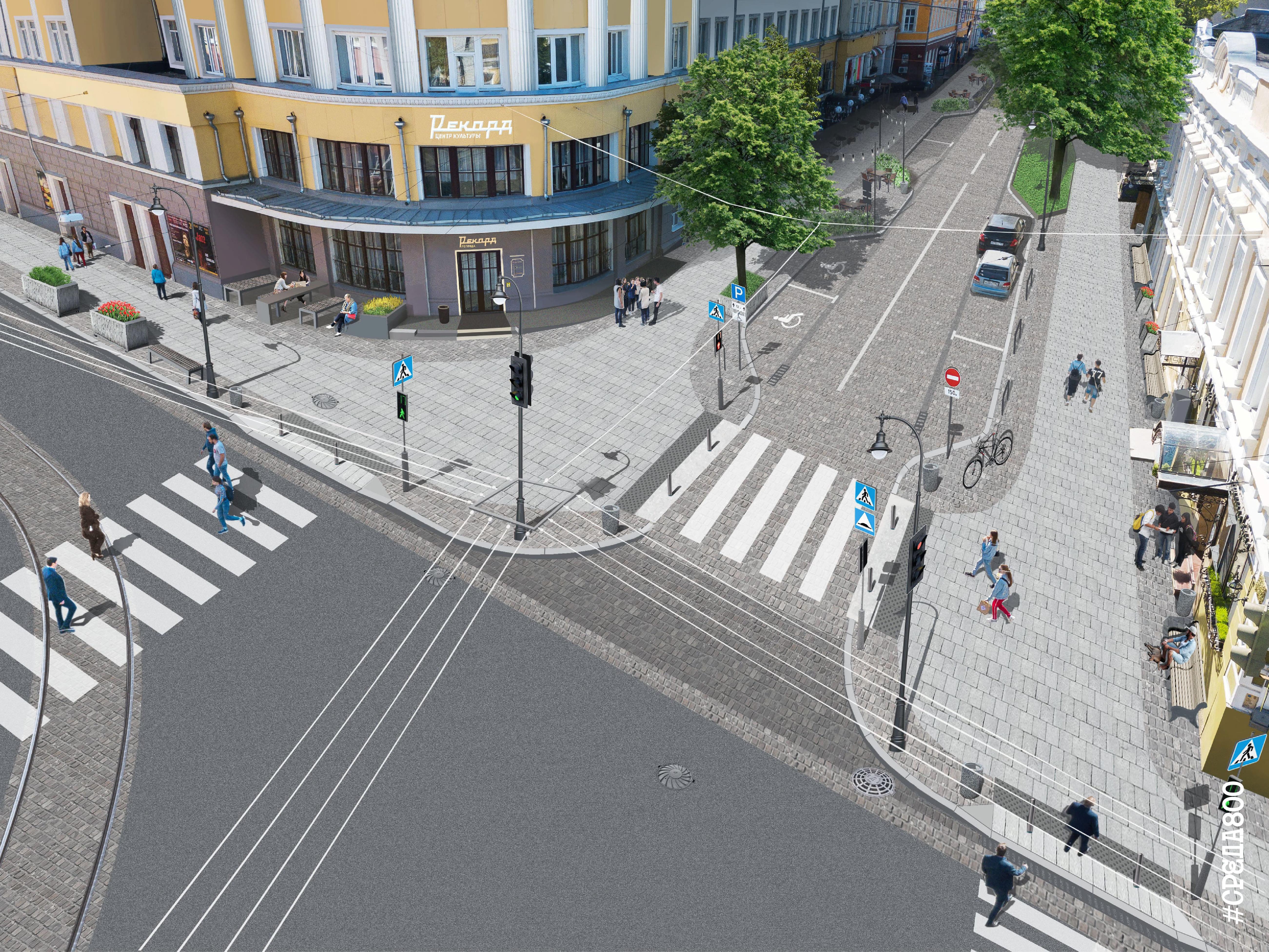 План благоустройства улицы Алексеевской в Нижнем Новгороде - фото 1