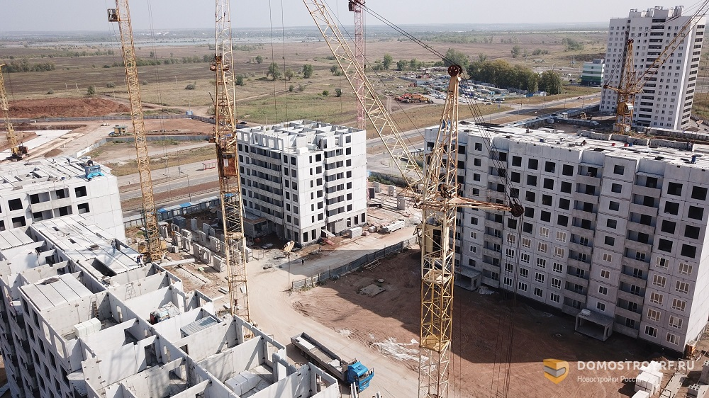 Масштабное развитие: как выглядит строительство Южного города с высоты