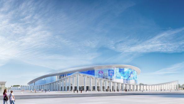 Проект «Ледового дворца» в Нижнем Новгороде
