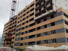 Ход строительства дома № 3А в ЖК Подкова на Гагарина - фото 45, Август 2019